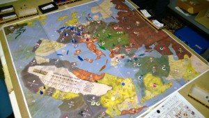 Axis & Allies WWI 1914 dopo i turni